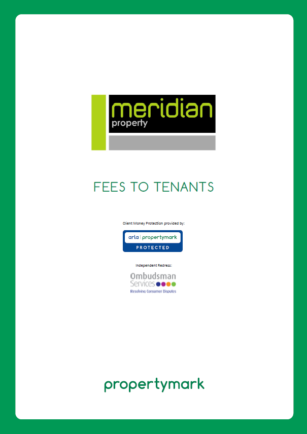 Fees To Tenants