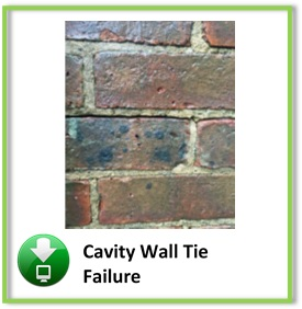 Cavity wall Tie Button
